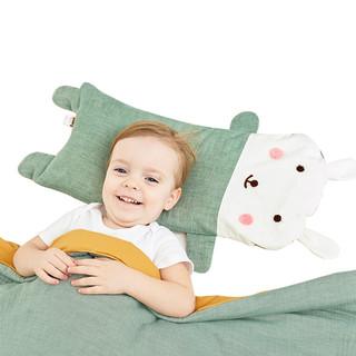 龙之涵 婴儿卡通荞麦壳枕头