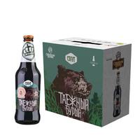 進口啤酒俄羅斯王冠 烈性世濤精釀 440ml*6瓶整箱裝