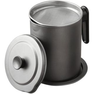 柏康  日式过滤油壶 1.4L