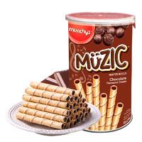 munchy's 马奇新新 妙乐 饼干 巧克力味 85g*4罐