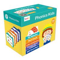 莎林自然拼讀禮盒點讀版(共150張單詞卡)支持小考拉和小達人點讀筆