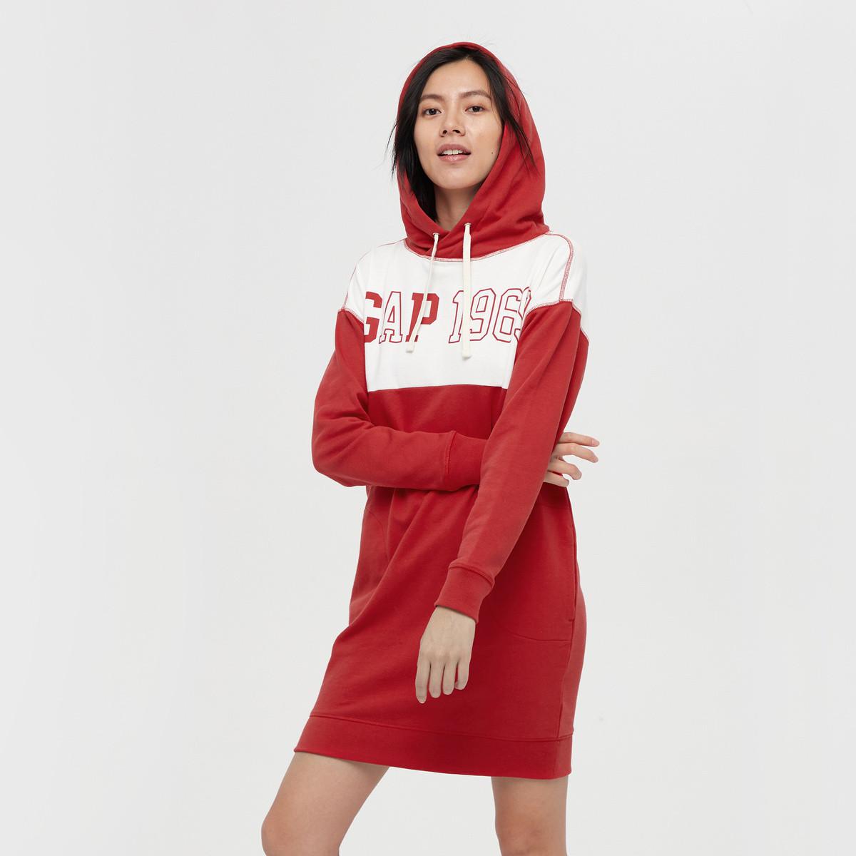 Gap 盖璞  499688  女士卫衣裙