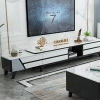 一米色彩 YMSC205D 现代简约实木可伸缩电视柜