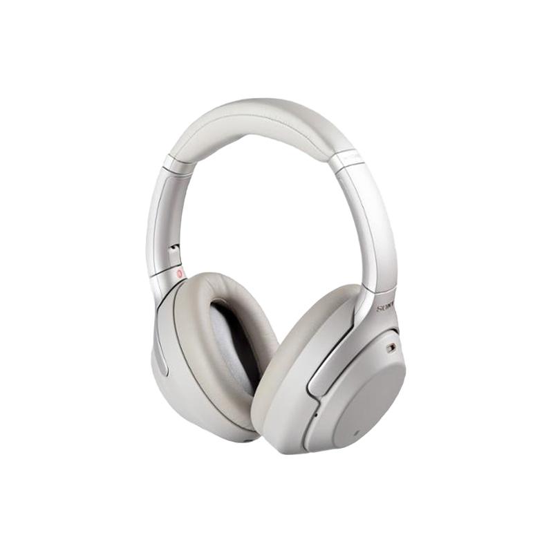 SONY 索尼 WH-1000XM4 耳罩式头戴式蓝牙耳机 铂金银