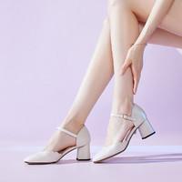 Teenmix 天美意 TBLCHT33DD1BK0  女士单鞋