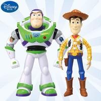 多美迪士尼玩具总动员4双语公仔巴斯光年火腿抱抱龙人偶手办模型