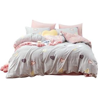 MENDALE 梦洁家纺 珊瑚绒四件套 1.2m床 可可甜心