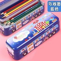 Disney 迪士尼 小号巴士 文具盒 随机颜色