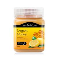 新西蘭Streamland進口新溪島結晶蜜檸檬蜂蜜250g土蜂蜜檸檬蜜