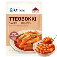 清凈園 韓國進口 清凈園甜辣炒年糕醬 韓式石鍋拌飯烤肉醬火鍋專用醬120g