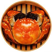 御鮮之王 大閘蟹鮮活現貨生鮮螃蟹禮盒 公蟹3.0-3.3兩母蟹2.0-2.3兩 4對8只