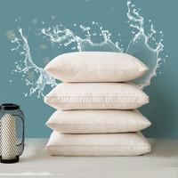 老席匠枕頭大豆纖維枕芯可水洗高彈星級酒店絲絨安睡枕頭芯 大豆蛋白柔膚枕 47*73cm單個裝