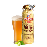 TSINGTAO 青岛啤酒 生啤酒 原浆 1L*2罐