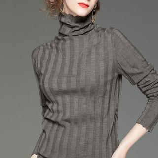 BOMOVO 女士高领毛衣 B19QC18J-1
