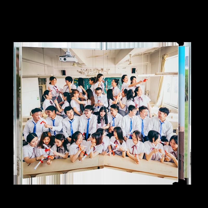 AoHu 傲虎 硬殼全書亮膜相冊 12寸對裱款 24P