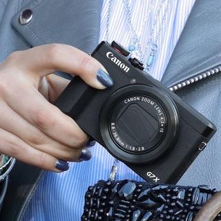 Canon 佳能 PowerShot G7 X Mark III 数码相机 黑色(8.8-36.8mm、F1.8-2.8)