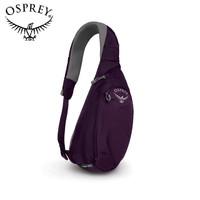 OSPREY 日闪6L腰包 小背包男士胸包休闲斜挎包DAYLITE SLING 紫色 19款