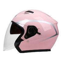 DFG电瓶电动摩托头盔男女四季通用可爱冬季保暖半盔安全帽全盔