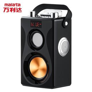 便携式户外音响播放器手提无线蓝牙音箱低音炮扩音器叫卖充电K歌