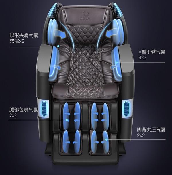 小编精选:爆卖破1.5亿+,万元档全新按摩黑科技—奥佳华 OG-7608 星际椅