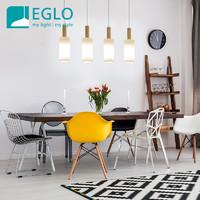 奧地利eglo北歐餐廳吧臺4頭吊燈創意個性現代簡約大氣餐桌燈