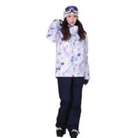 ICEPARDAL 女子滑雪服 ICSKI01-827 紫白蓝