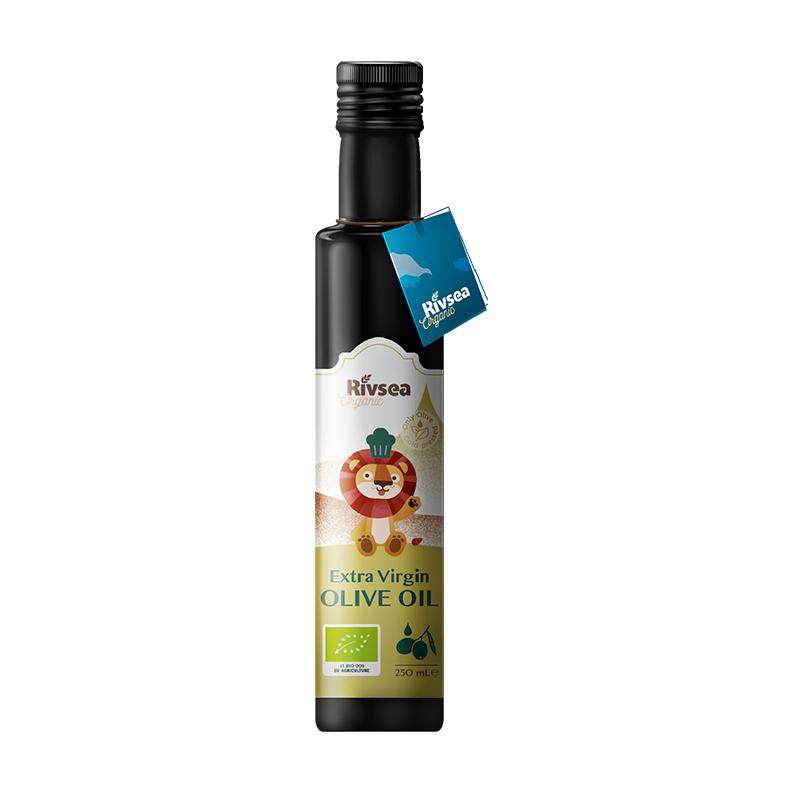 禾泱泱(Rivsea)特级初榨宝宝食用油热炒搭配营养辅食意大利进口欧盟有机 特级橄榄油 250ml 孕婴食用油