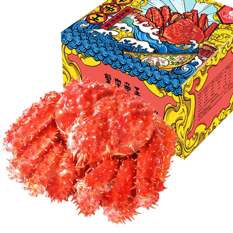 首鲜道 熟冻帝王蟹 4-4.4斤