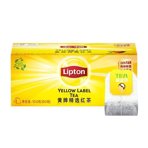 Lipton 立顿 精选红茶 50包 100g