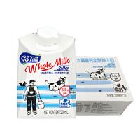太慕 高钙全脂纯牛奶200ml*24盒+ 十月稻田香稻贡米5kg+ 果子町园道奶盐味苏打饼干80g*2件