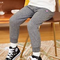 精典泰迪2021春上新男女童裤子婴儿裤子宝宝保暖长裤儿童裤子