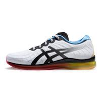 ASICS 亚瑟士 缓冲减震女跑步鞋GEL-QUANTUM 白色/蓝色 37