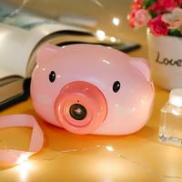 移动专享 : Abay 儿童小猪电动吹泡泡机器