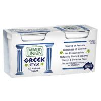 Farmers union 農夫聯盟 希臘式風味酸乳 原味 140g*8杯