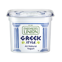 Farmers union 農夫聯盟 希臘式 風味酸乳 1kg