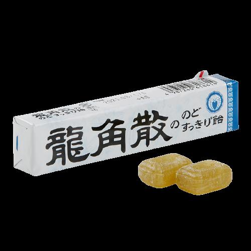 RYUKAKUSAN 龍角散 喉糖 原味 10粒 40g