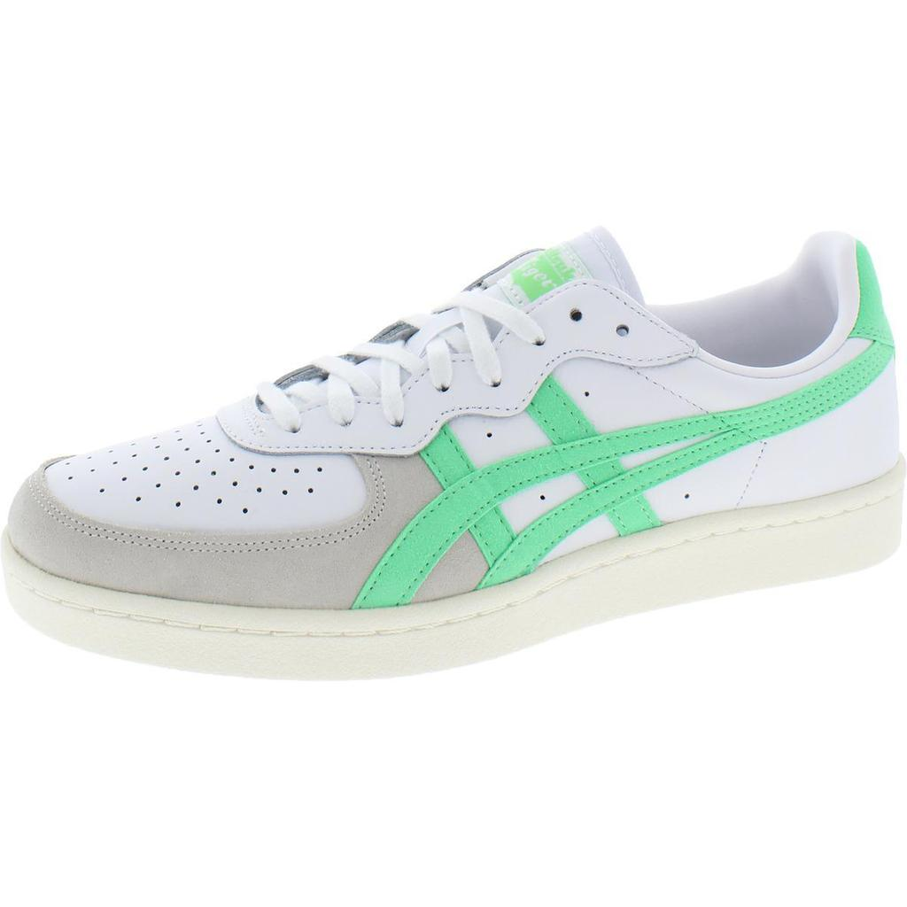 Onitsuka Tiger Mens Leather Lace-Up Casual Shoes