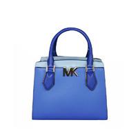 女神超惠买、考拉海购黑卡会员 : MICHAEL KORS 迈克高仕 MOTT系列 女士蓝色字母微标手提包