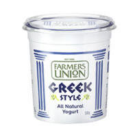 Farmers union 農夫聯盟 希臘式風味酸乳 500g*2盒 家庭裝