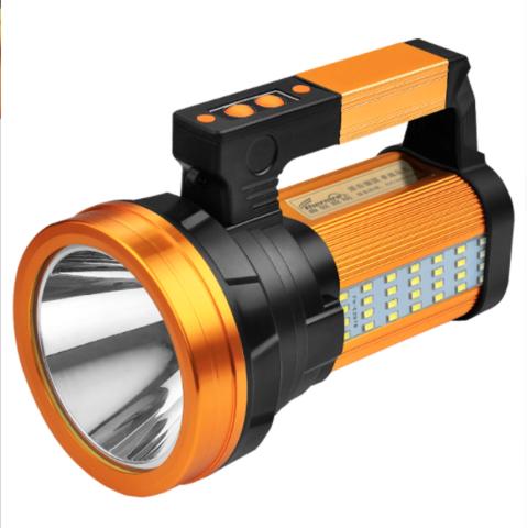 THERM-A-REST 手电筒强光充电户外超亮大功率 远射led氙气家用巡逻矿手提探照灯