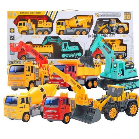 猫贝乐  大号汽车模型套装儿童玩具 6只套装