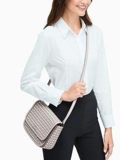 spade link shoulder bag