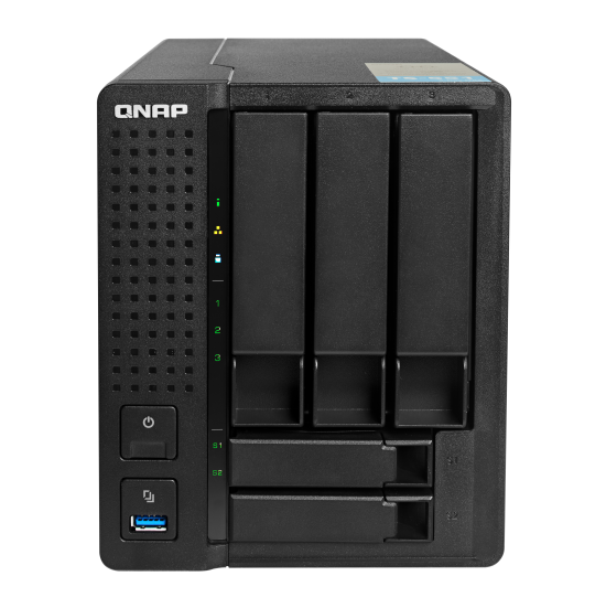 QNAP 威联通  TS-551 NAS网络存储器 五盘位 无内置硬盘 黑色