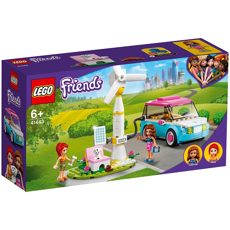 积木之家 : LEGO 乐高 Friends 好朋友系列 41443 奥莉薇亚的电动汽车