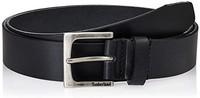 Timberland 男士经典皮革牛仔腰带,可提供大号和高号,1.4英寸宽(约3.56厘米)