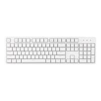 新品发售:Irok 艾石头 FE 104  104键键机械键盘   白色 茶轴