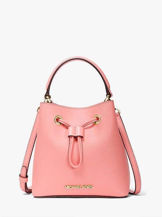 Suri Small Saffiano Leather Crossbody Bag
