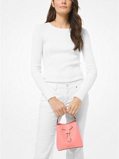 Suri Small Saffiano Leather Crossbody Bag