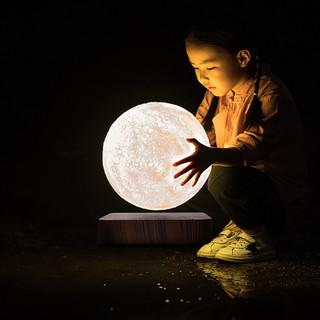 樱安娜 磁悬浮月球 台灯