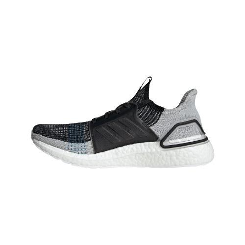 adidas 阿迪达斯  UltraBOOST 19 男子跑鞋 F35242 黑色/灰色/青蓝 41